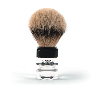 Barburys Silver Diamond Shaving Brush