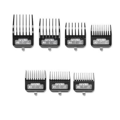 Andis BG Series Premium Metal Clip Combs