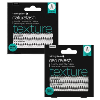 Salon System Naturalash Texture Mink Style Individual Lashes