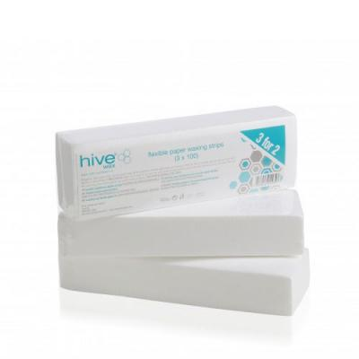 Hive Flexible Paper Waxing Strips 3 for 2 Pack