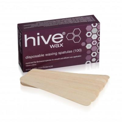 Hive Disposable Wooden Spatulas (x100)