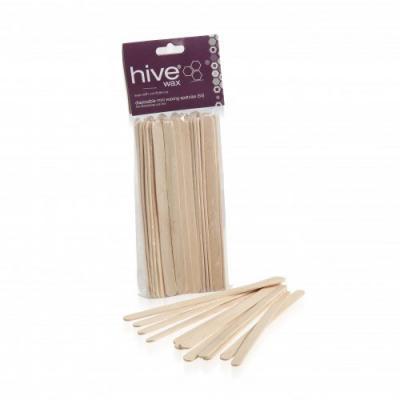 Hive Disposable Mini Wooden Spatulas (x50)