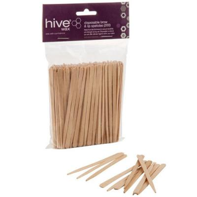 Hive Disposable Brow & Lip Spatulas (x200)