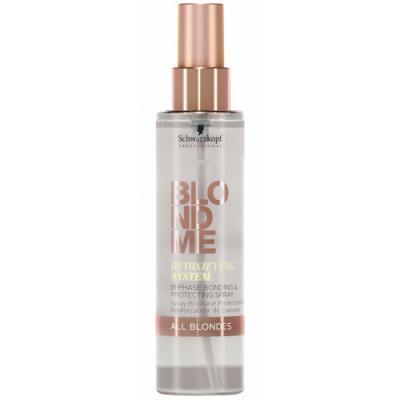 Schwarzkopf BLONDME Detoxifying System Bi-Phase Bonding & Protecting Spray