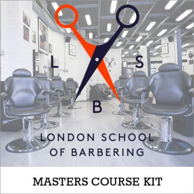 London School of Barbering Masters Course Kit