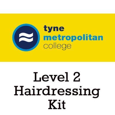 Tyne Metropolitan College Level 2 Hairdressing Kit