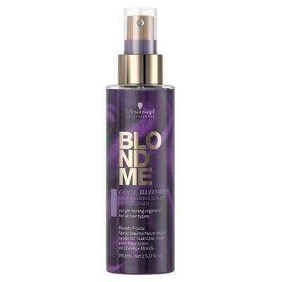 Schwarzkopf Professional BLONDME Cool Blondes Neutralizing Spray Conditioner