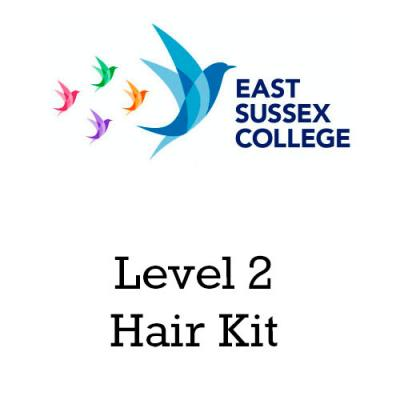 East Sussex College Level 2 Hair Kit
