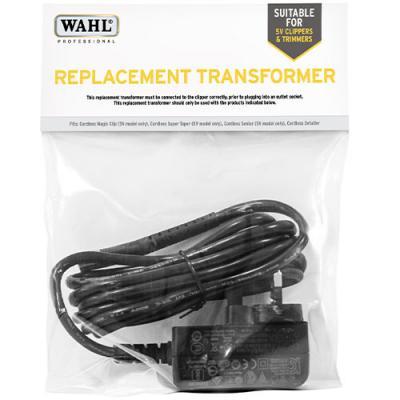 Wahl Replacement Transformer - Cordless Super Taper / Magic Clip / Senior *5-VOLT* (97624-800)