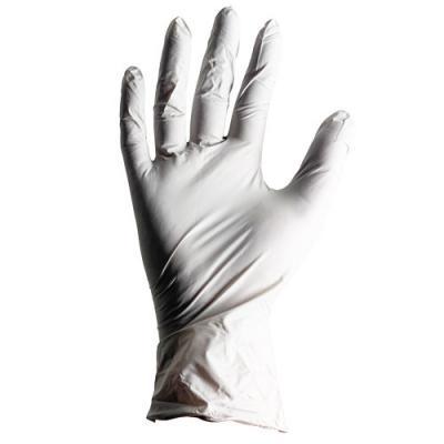 Disposable Powder-Free Light Grey Nitrile Gloves (x100)
