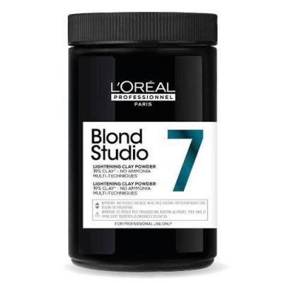 L'Oréal Professionnel Blond Studio Lightening Clay Powder