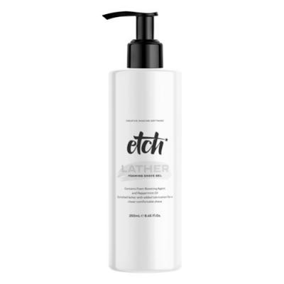 Etch Lather Foaming Shave Gel