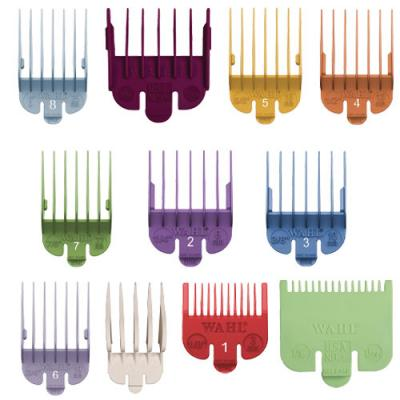 Wahl Coloured Combs - All Sizes 1/2–10 (1.5–32 mm)