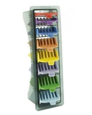 Wahl Set of 8 Coloured Combs