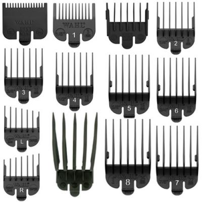 Wahl Black Combs - All Sizes ½–12 (1.5–37.5 mm)