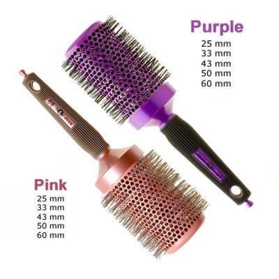 Head Jog Ceramic Ionic Radial Brushes (Pink or Purple)